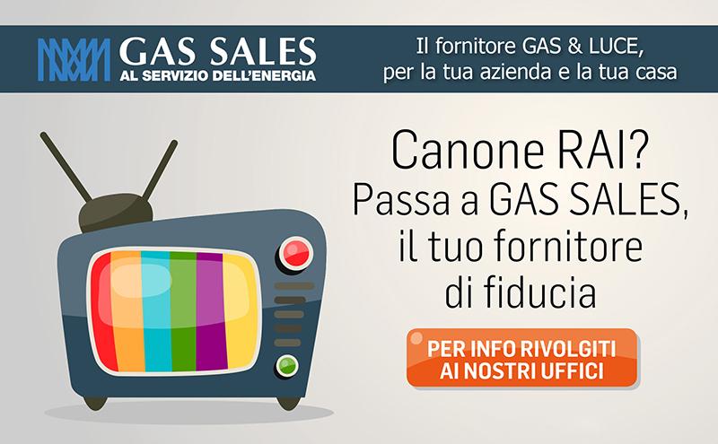 ... Pagamento Canone RAI. Gas Sales Ti Ricorda Che Dallo Scorso 1° Gennaio  2016 è Entrata In Vigore La Legge Di Stabilità 2016 (legge 28/12/2015 N.